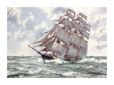 Up Channel II Premium Giclee Print by Montague Dawson