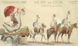 Carnaval De Nice, 1932 Premium Giclee Print by H Sauvigo