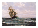 The Green Clipper, 'Matilda Wittenbach' Premium Giclee Print by Montague Dawson