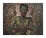 Hindu Dancer Premium Giclee Print by Vladimir Tretchikoff