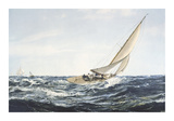 A Winning Tack Premium Giclee Print by Montague Dawson