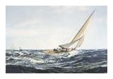 A Winning Tack Premium Giclee Print by Montague Dawson