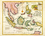 East India Islands, 1747 Premium Giclee Print by Emanuel Bowen