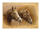 The Minstrel Premium Giclee Print by Susan Crawford