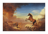 The Stallion Premium Giclee Print by Stephen Pearson