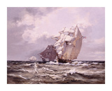 Catch Me Who Can Premium Giclee Print by Montague Dawson