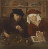 The Merchant Premium Giclee Print by  17th Century Dutch School