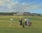 "St. Andrews 1st - ""Burn"" Limited Edition by Peter Munro"