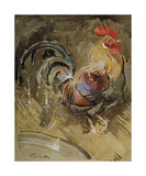 Coq de Minorque Reproduction giclée Premium par Joseph Crawhall