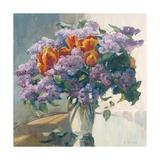 Lilacs Premium Giclee Print by Valeriy Chuikov