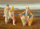 Wide Trousers Premium Giclee Print by Claude Harrison