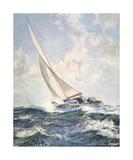 Ocean Racers Premium Giclee Print by Montague Dawson