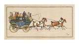 Stagecoach I Premium Giclee Print by Cecil Aldin