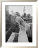 Marilyn Monroe at the Ambassador Hotel, New York, c.1955 Poster von Ed Feingersh