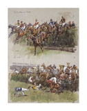 Aintree 1967 Premium Giclee Print by Peter Biegel