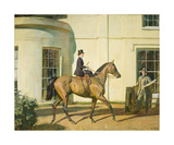 My Wife, My Horse and Myself Premium Giclee Print by Sir Alfred Munnings