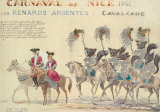 Carnaval De Nice, 1961 Premium Giclee Print by H Sauvigo