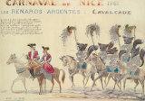 Carnaval De Nice, 1961 Premium Giclee Print by H Sauvigo