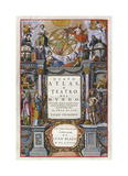 Nuevo Atlas o Teatro del Mundo, 1659 Premium Giclee Print by Juan Blaeu
