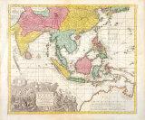 India Orientalis, Adjacentius Insulis, c1740 Premium Giclee Print by Georg Matthaus Seutter