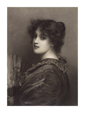 Sylvia Premium Giclee Print by Sir Luke Fildes