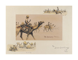 The Somali Camel Corps Premium Giclee Print by  Snaffles