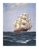 Sovereign of the Seas Premium Giclee Print by Montague Dawson