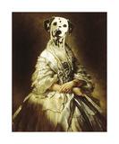 La Comtesse Giclee-tryk i høj kvalitet af Thierry Poncelet