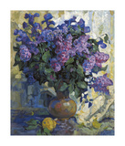 Lilac and Pear Premium Giclee Print by Valeriy Chuikov
