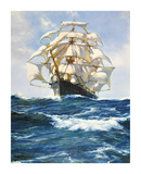 Wind and Sun Premium Giclee Print by Montague Dawson