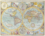 A New and Accurat Map of the World, 1627-1651 Premium Giclee Print by John Speed