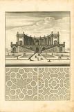Parterre I Premium Giclee Print by A. Poiteau
