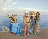 Promenade Oracle Premium Giclee Print by Claude Harrison