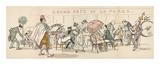 Grand Cafe De La Plage Premium Giclee Print by  Sem