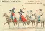 Carnaval De Nice, 1951 Premium Giclee Print by H Sauvigo