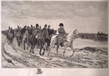 Napoleon's Retreat From Moscow Premium Giclee Print by Ernest Meissonier