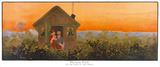 Peter Pan Premium Giclee Print by John Hassall