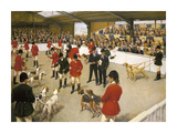 Peterborough Show Premium Giclee Print by Terence Cuneo