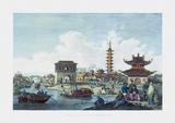 Staunton's Embassy To China. Premium Giclee Print by Sir George Staunton