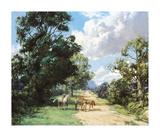 Morning Ride Premium Giclee Print by Montague Dawson