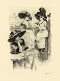 Maxim's Bar Premium Giclee Print