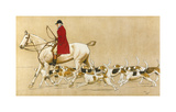 The Old School Premium Giclee Print by Cecil Aldin