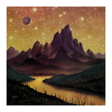 Mountain Grill Premium Giclee Print by David A Hardy