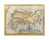 Japan, 1616 Premium Giclee Print by Petrus Bertius