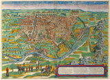Cairus, Ovae Olim Babylon, 1574 Premium Giclee Print by  Braun and Hogenberg