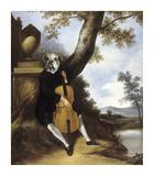 La Musique Premium Giclee Print by Thierry Poncelet