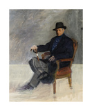 Portrait Of Munnings Premium Giclee Print by Maurice Codner