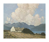 The Roadside Cottage Premium Giclee Print by Paul Henry
