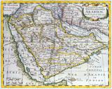 L'Arabie Petree Deserte et Heureuse, 1652 Premium Giclee Print by Nicolas Sanson
