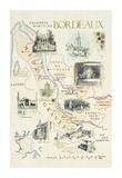 Bordeaux Premium Giclee Print by Michael Broadbent